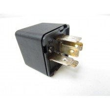 Black Relay for lighting and horn Lancia various models