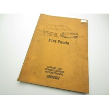 Workshop manual Fiat Panda 30 and 45 - Dutch