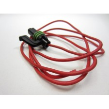 1-pole plug with cable for Radiator fan or thermoswitch cable harness-silk Lancia Delta Integrale