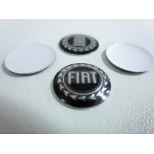 Fiat Punto II 500 key logo for Stilo Grande Punto (imitation) 2 pieces